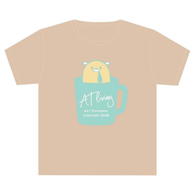 よだれむしロゴTシャツ(S)/ AT living [2回目]