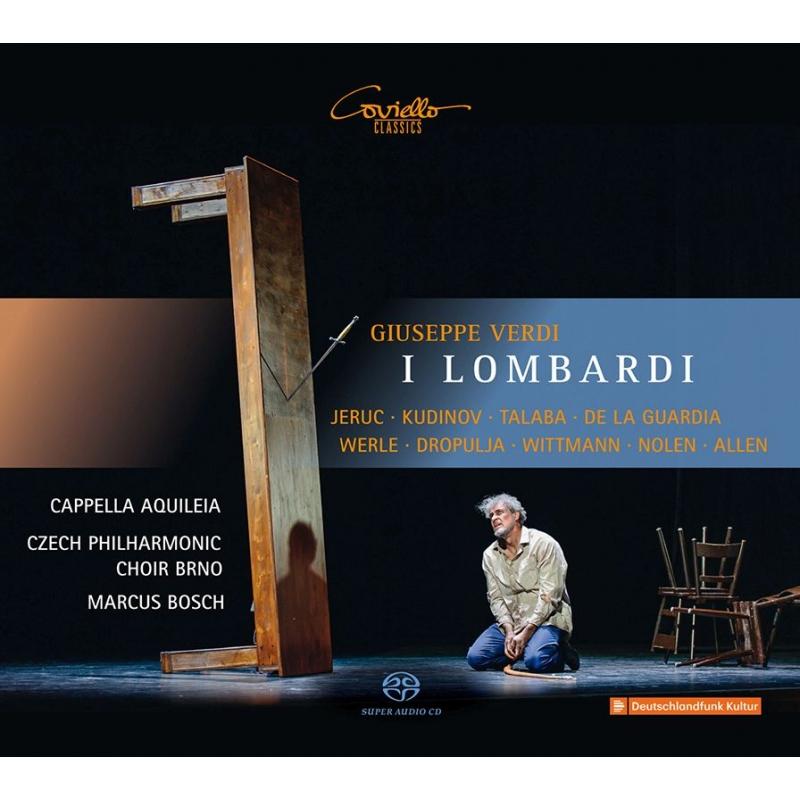 『第1回十字軍のロンバルディア人』全曲 マルクス・ボッシュ&カペッラ・アクイレイア、レオン・デ・ラ・グアルディア、他(2018 ステレオ)(2SACD)