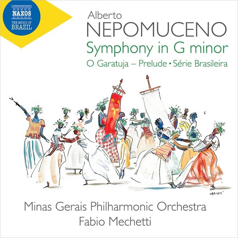 交響曲、ブラジル組曲、『いたずら小僧』前奏曲 ファビオ・メケッティ&ミナス・ジェライス・フィル