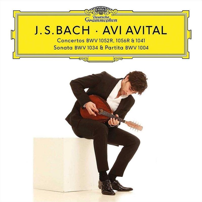 マンドリンによるヴァイオリン協奏曲第1番、チェンバロ協奏曲第1番、第5番、他 アヴィ・アヴィタル、カンマーアカデミー・ポツダム(2CD+DVD)
