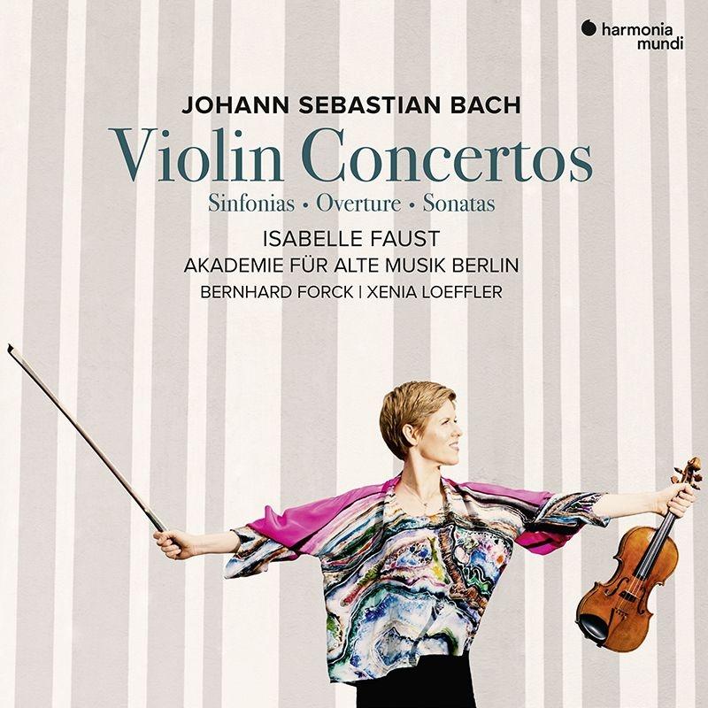 ヴァイオリン協奏曲集、管弦楽組曲第2番(ヴァイオリン協奏曲版)シンフォニア、他 イザベル・ファウスト、ベルリン古楽アカデミー(2CD)