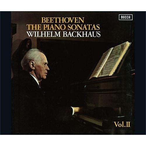 ピアノ・ソナタ全集 Vol.2 ヴィルヘルム・バックハウス(3SACDシングルレイヤー)