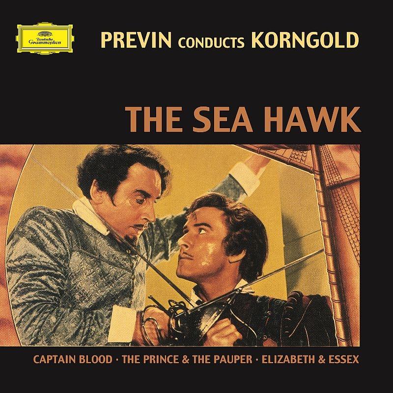 『シー・ホーク』組曲、『海賊ブラッド』組曲、『女王エリザベス』組曲、『放浪の王子』組曲 アンドレ・プレヴィン&ロンドン交響楽団