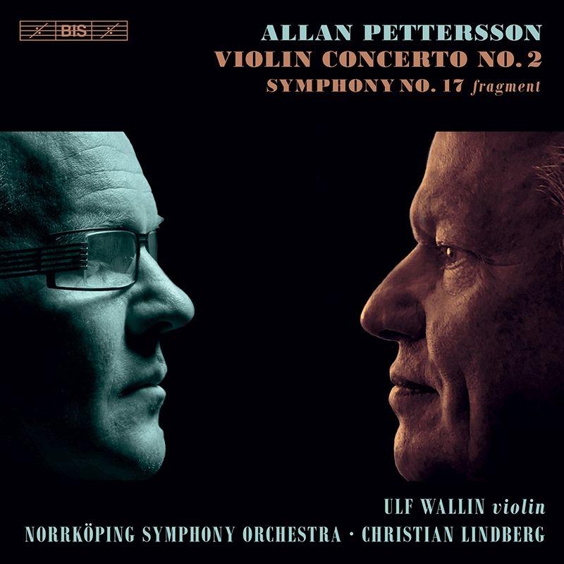 交響曲第17番、ヴァイオリン協奏曲第2番 クリスティアン・リンドベルイ&ノールショピング交響楽団、ウルフ・ヴァリーン