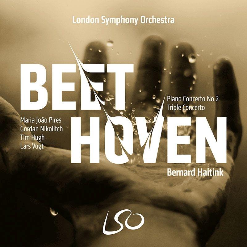 ピアノ協奏曲第2番、三重協奏曲 ベルナルド・ハイティンク&ロンドン交響楽団、マリア・ジョアン・ピリス、ラルス・フォークト、ゴルダン・ニコリッチ、他