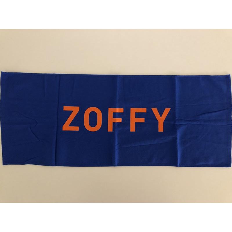 ZOFFY 青タオル