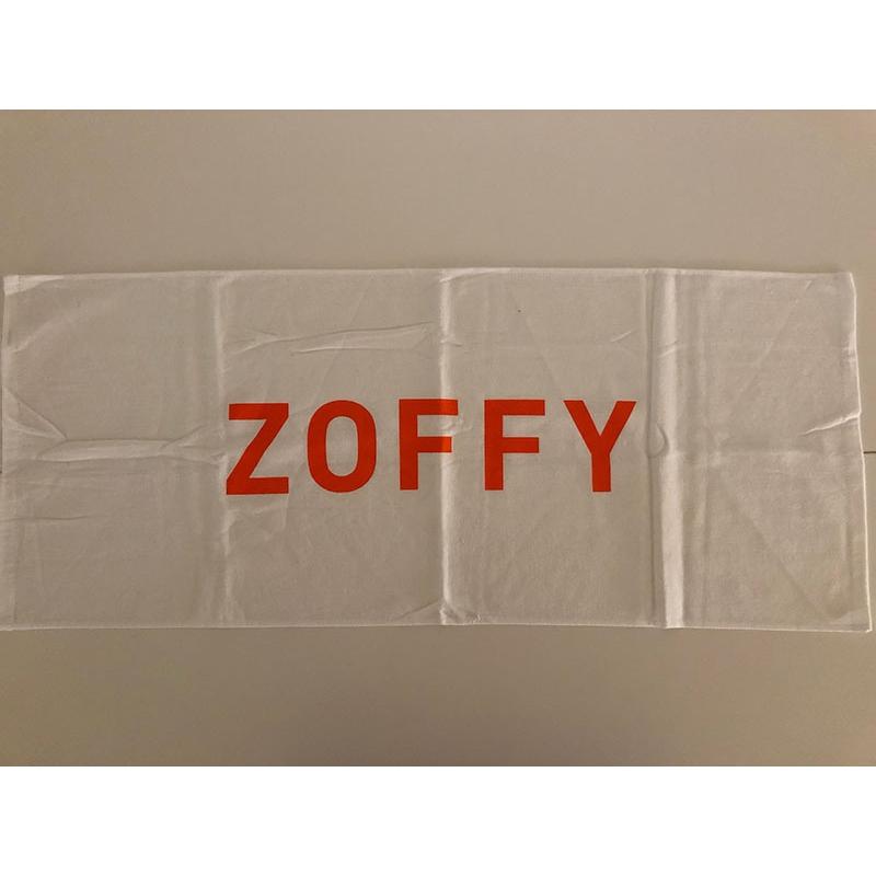 ZOFFY 白タオル