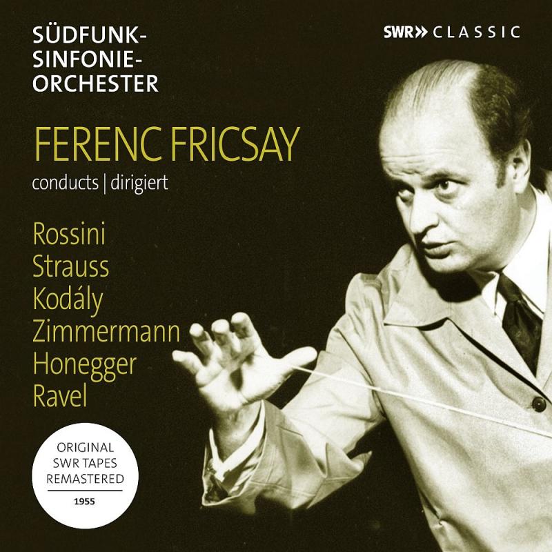 ラヴェル:ボレロ、コダーイ:ガランタ舞曲、他 フェレンツ・フリッチャイ&シュトゥットガルト放送交響楽団、マルグリット・ウェーバー(1955)