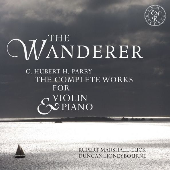 The Wanderer-comp.works For Violin & Piano: Marshall-luck(Vn)Honeybourne(P)