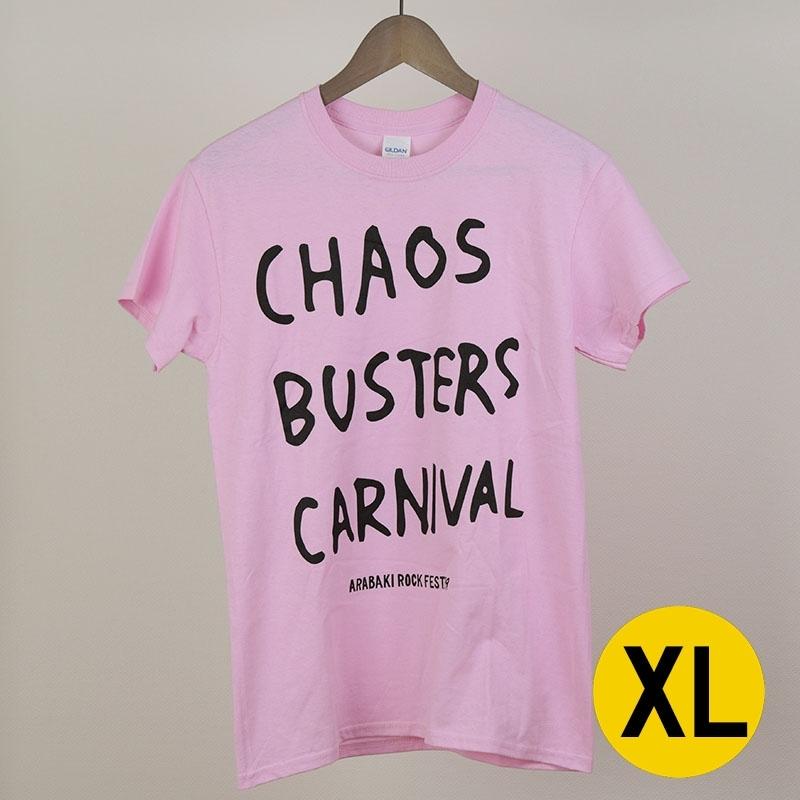 C.B.CTシャツ ライトピンク XLサイズ