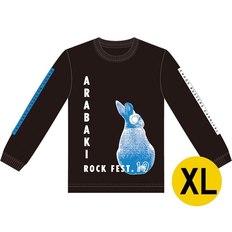 ロングスリーブTシャツ ブラック XLサイズ