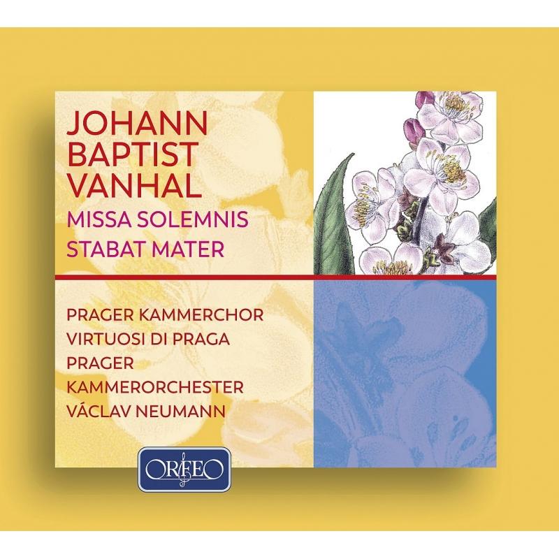 荘厳ミサ、悲しみの聖母、交響曲ニ短調 ヴァーツラフ・ノイマン&ヴィルトゥオージ・ディ・プラハ、プラハ室内合唱団(2CD)