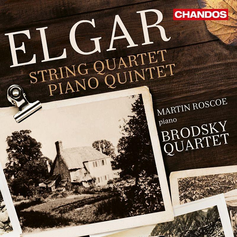 弦楽四重奏曲、ピアノ五重奏曲 ブロドスキー四重奏団、マーティン・ロスコー