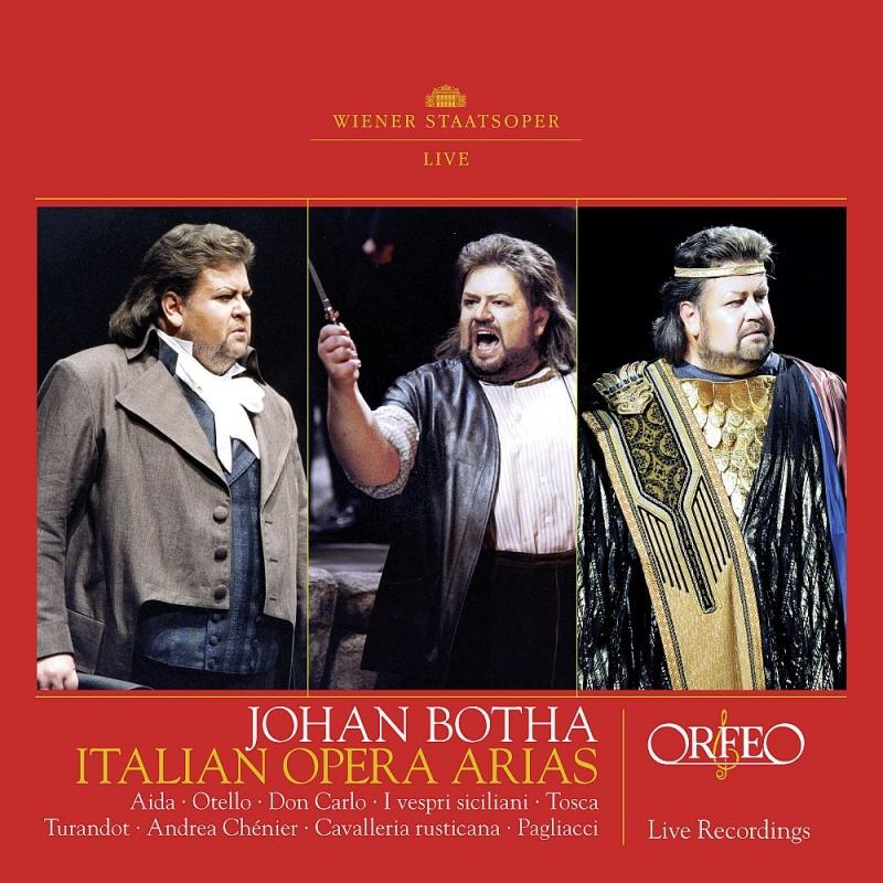 ヨハン・ボータ、イタリア・オペラ・アリア集〜ウィーン国立歌劇場ライヴ 1998〜2007(2CD)