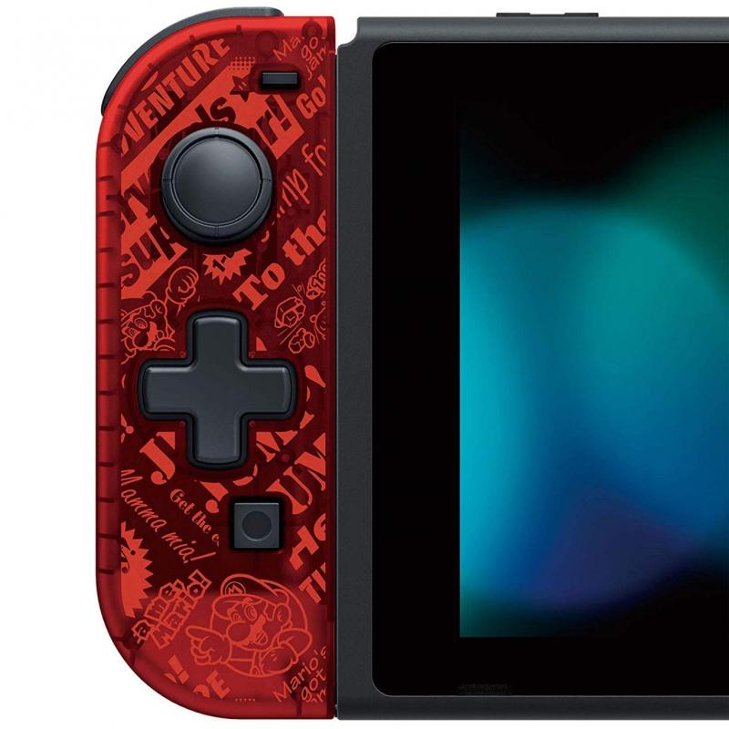 携帯モード専用 十字コン(L) for Nintendo Switch(スーパーマリオ)