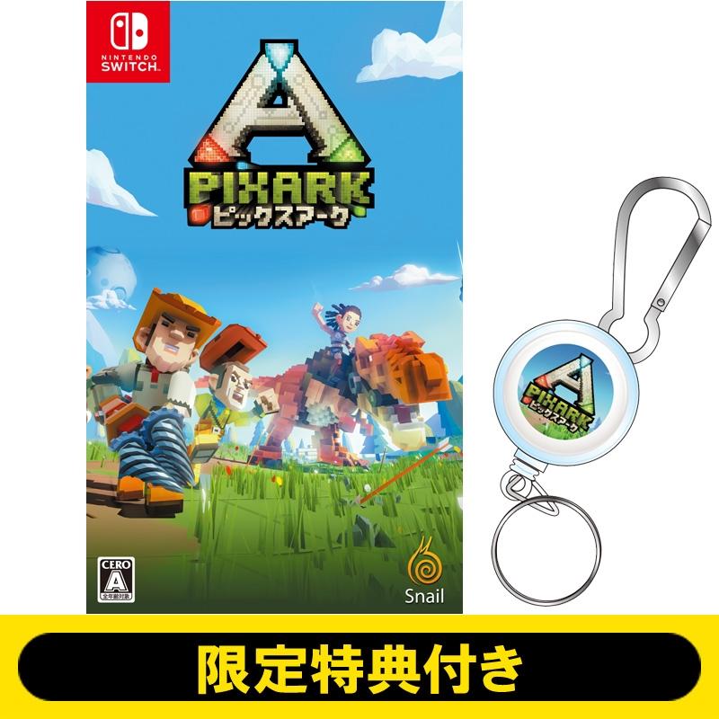 【Nintendo Switch】PixARK(ピックスアーク)【限定特典:オリジナルカラビナリールコード付き】