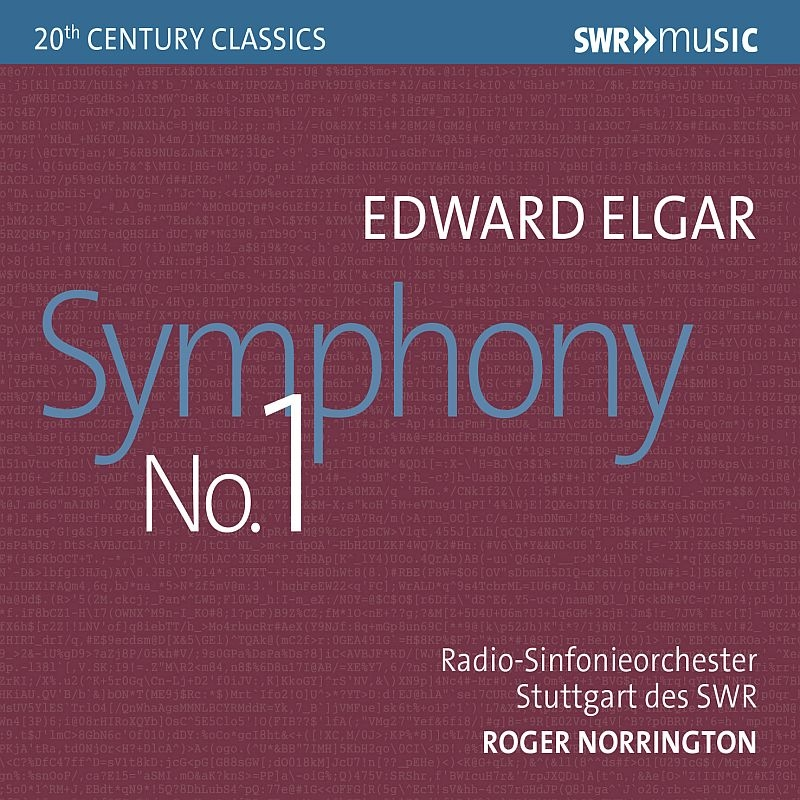 エルガー:交響曲第1番、ワーグナー:『ニュルンベルクのマイスタージンガー』前奏曲 ロジャー・ノリントン&シュトゥットガルト放送交響楽団