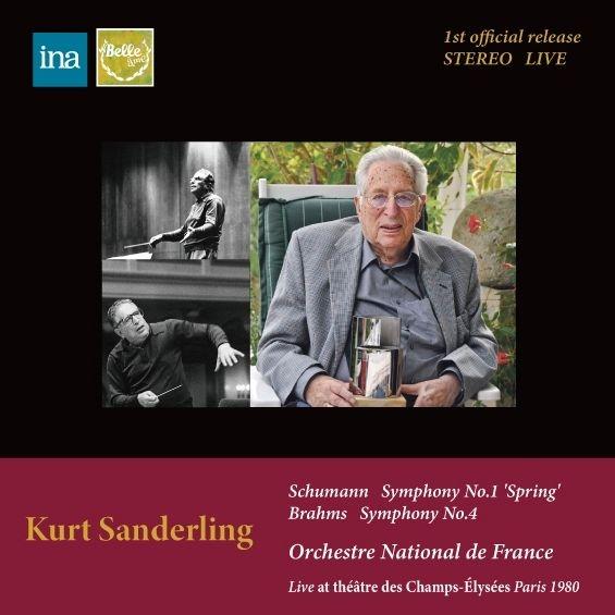 シューマン:交響曲第1番『春』、ブラームス:交響曲第4番 クルト・ザンデルリング&フランス国立管弦楽団(1980年ステレオ)