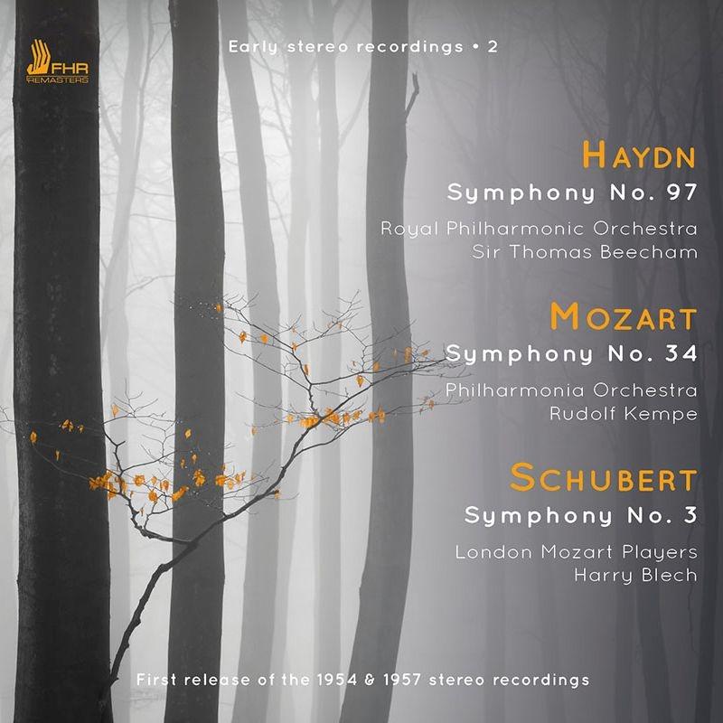 ハイドン:交響曲第97番(トマス・ビーチャム&ロイヤル・フィル)、モーツァルト:交響曲第34番(ルドルフ・ケンペ&フィルハーモニア管弦楽団)、他