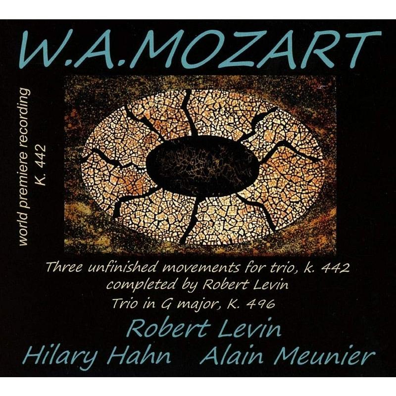 ピアノ三重奏曲第2番(レヴィン版)、第3番 ヒラリー・ハーン、ロバート・レヴィン、アラン・ムニエ
