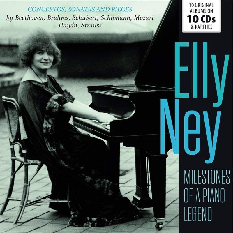 Milestones of a Piano Legend〜エリー・ナイ名演集(10CD)