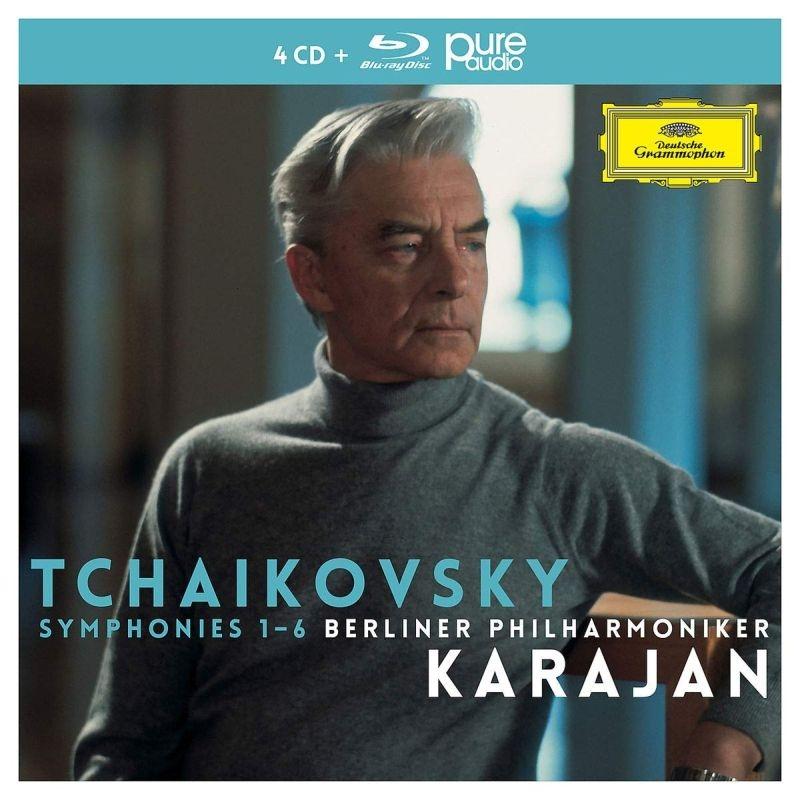 交響曲全集、スラヴ行進曲、イタリア奇想曲 ヘルベルト・フォン・カラヤン&ベルリン・フィル(4CD+ブルーレイ・オーディオ)