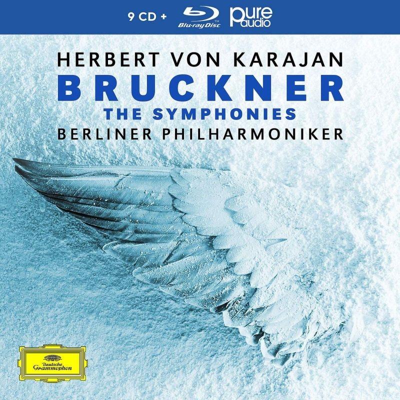 交響曲全集(第1番〜第9番) ヘルベルト・フォン・カラヤン&ベルリン・フィル(9CD+ブルーレイ・オーディオ)