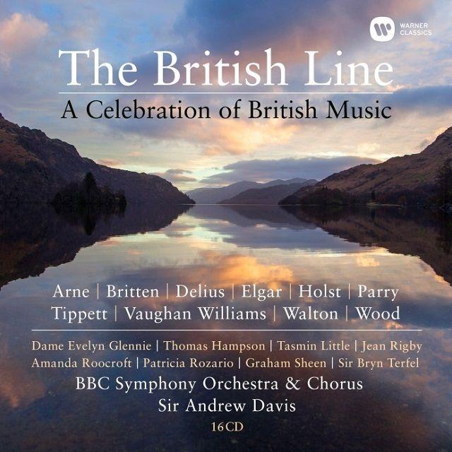 ブリティッシュ・ライン〜イギリス音楽の祭典〜ヴォーン・ウィリアムズ:交響曲全集、エルガー:交響曲&管弦楽曲集、他 アンドルー・デイヴィス&BBC交響楽団(16CD)