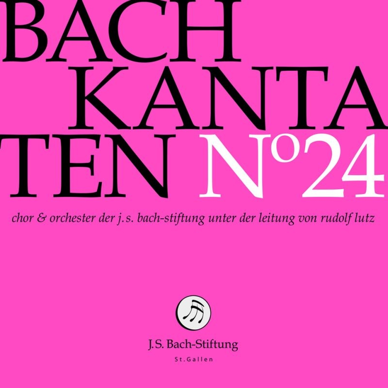 カンタータ集 第24集〜第97番、第127番、第156番 ルドルフ・ルッツ&バッハ財団管弦楽団