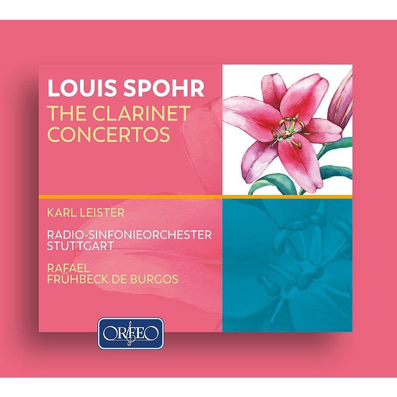 クラリネット協奏曲第1番、第2番、第3番、第4番 カール・ライスター、ラファエル・フリューベック・デ・ブルゴス&シュトゥットガルト放送交響楽団(2CD)