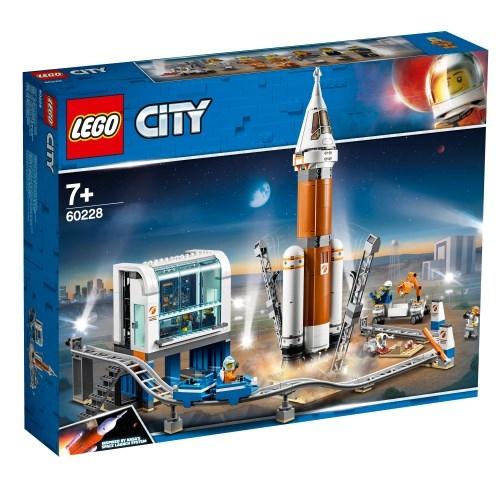 レゴ 超巨大ロケットと指令本部 60228