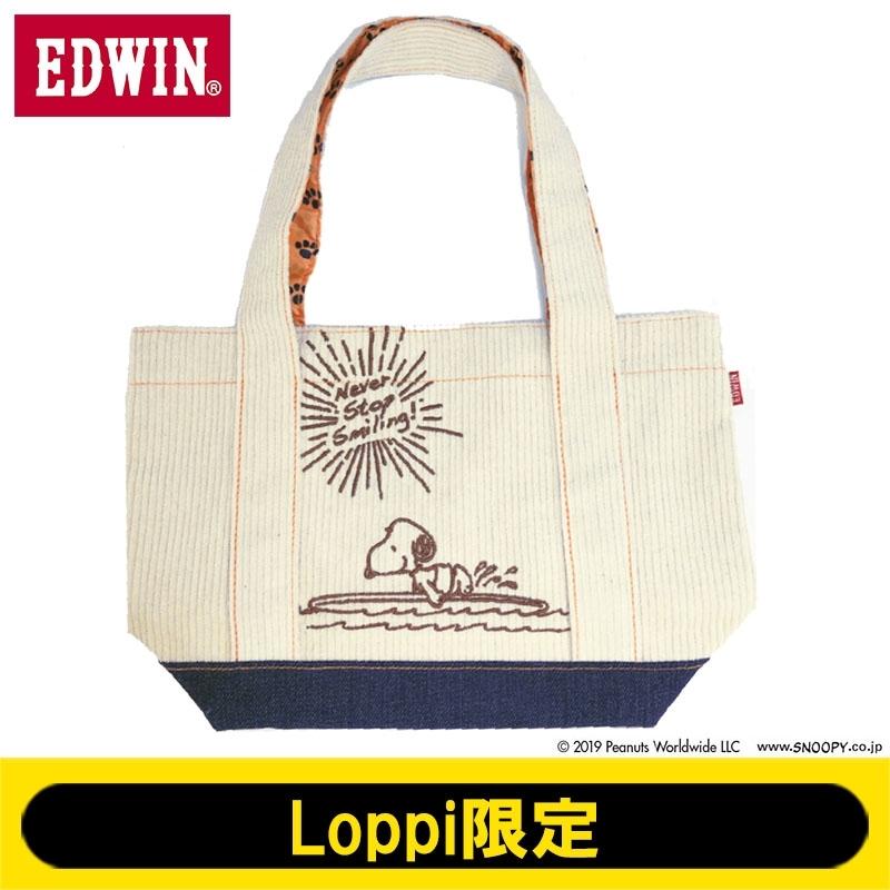 EDWIN デニムミニトートバッグ【Loppi限定】