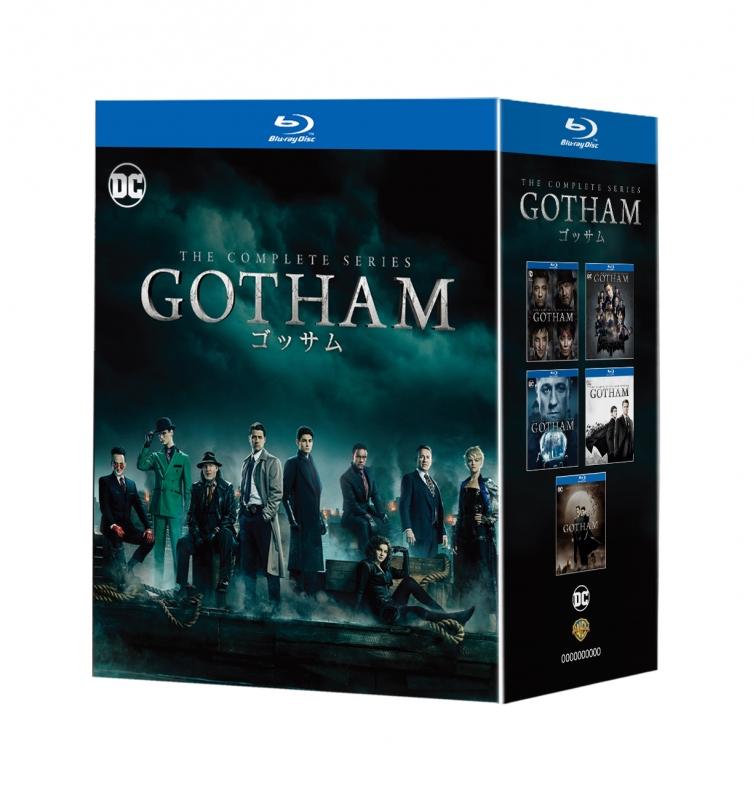 GOTHAM/ゴッサム ブルーレイ コンプリート・シリーズ(18枚組・オリジナル映像特典DVD DISC付)