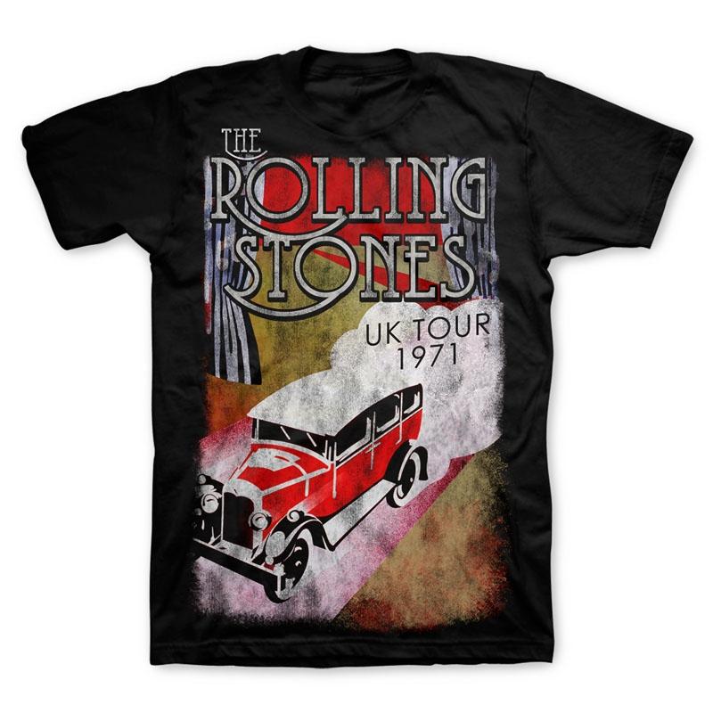 TRS UK Tour Truck SS Tee Black XL