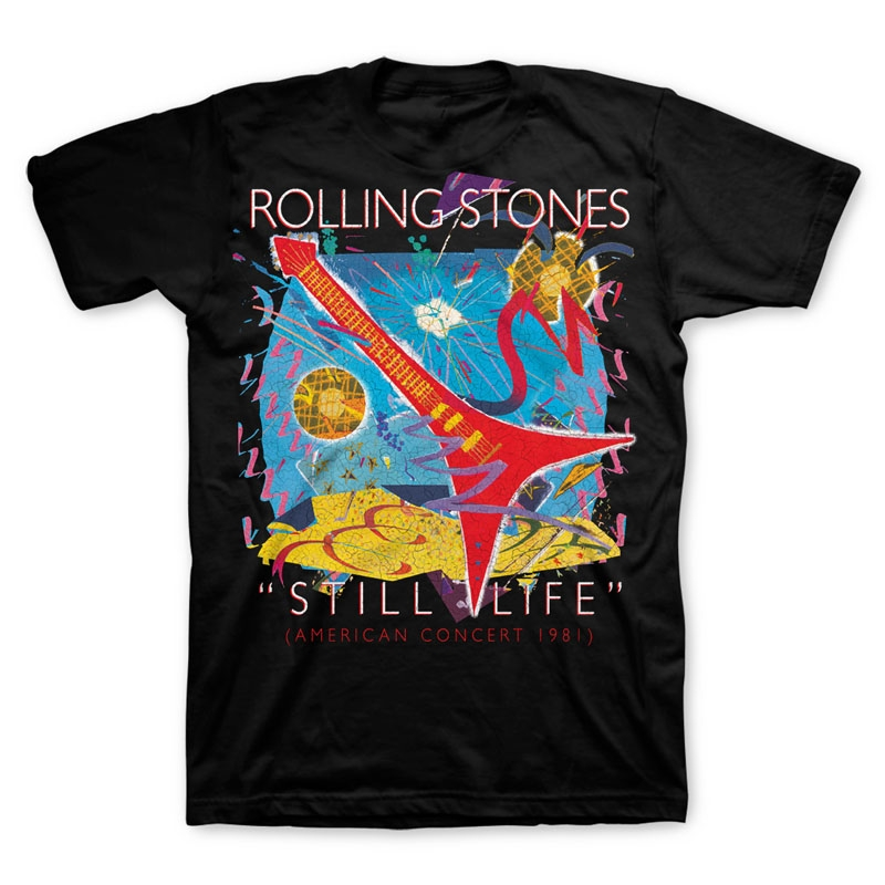 TRS Still Life Tongue Tee Black 2XL