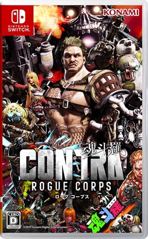 【Nintendo Switch】Contra Rogue Corps 魂斗羅 ローグ コープス