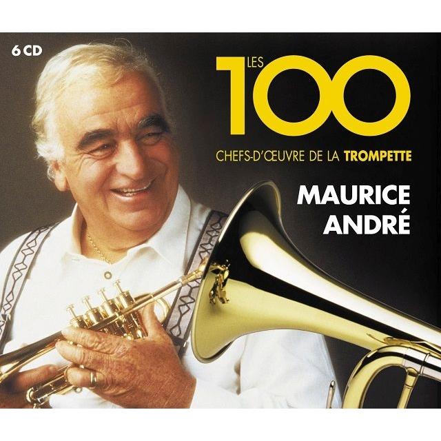 モーリス・アンドレ/名トランペット演奏 100トラック(6CD)