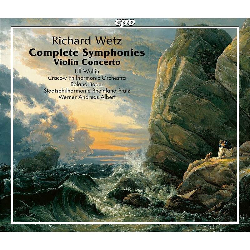 交響曲全集、ヴァイオリン協奏曲 ヴェルナー・アンドレアス・アルベルト&プファルツ州立フィル、ウルフ・ヴァーリン、ローラント・バーダー&クラクフ・フィル(4CD)