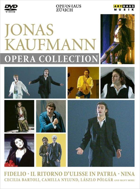 ヨナス・カウフマン〜オペラ・コレクション 『ニーナ』(2002)、『フィデリオ』(2004)、『ウリッセの帰還』(2002) チューリッヒ歌劇場(3DVD)