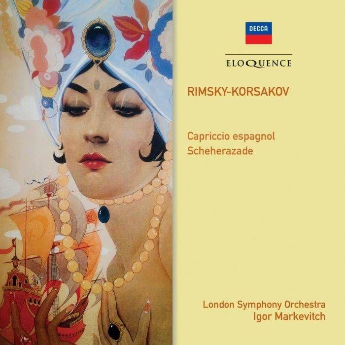 シェエラザード、スペイン奇想曲 イーゴリ・マルケヴィチ&ロンドン交響楽団