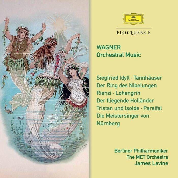 序曲集、前奏曲集、ジークフリート牧歌 ジェイムズ・レヴァイン&メトロポリタン歌劇場管弦楽団、ベルリン・フィル(2CD)