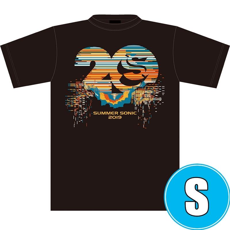 サマソニ20周年記念Tシャツ BLACK (S)※事後販売分