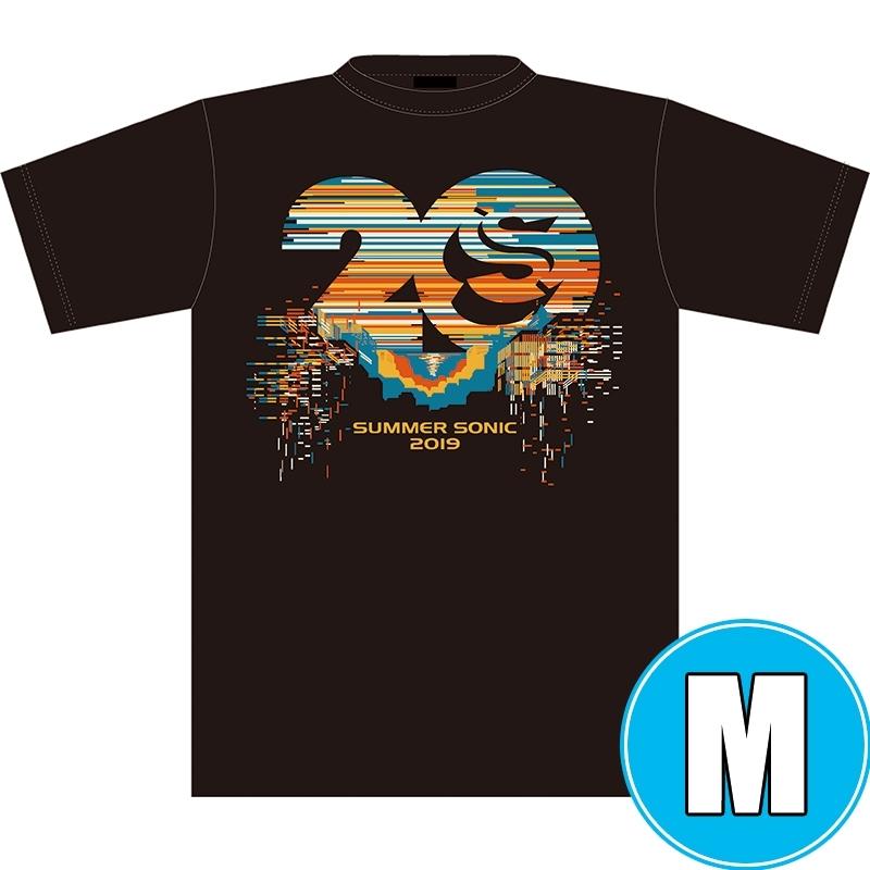 サマソニ20周年記念Tシャツ BLACK (M)※事後販売分