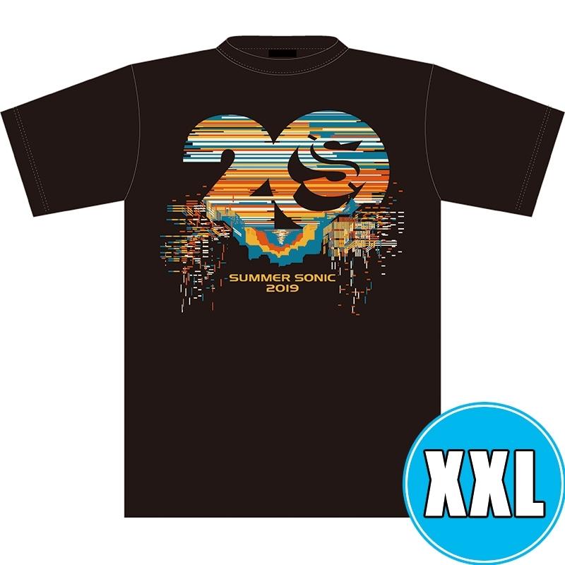 サマソニ20周年記念Tシャツ BLACK (XXL)※事後販売分