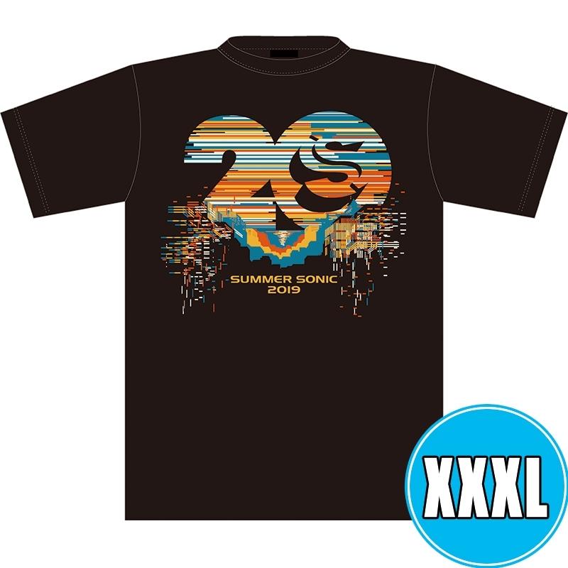 サマソニ20周年記念Tシャツ BLACK (XXXL)※事後販売分
