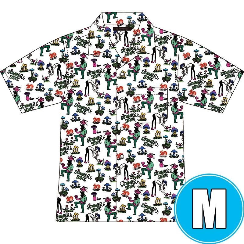 アロハシャツ WHITE (M)※事後販売分