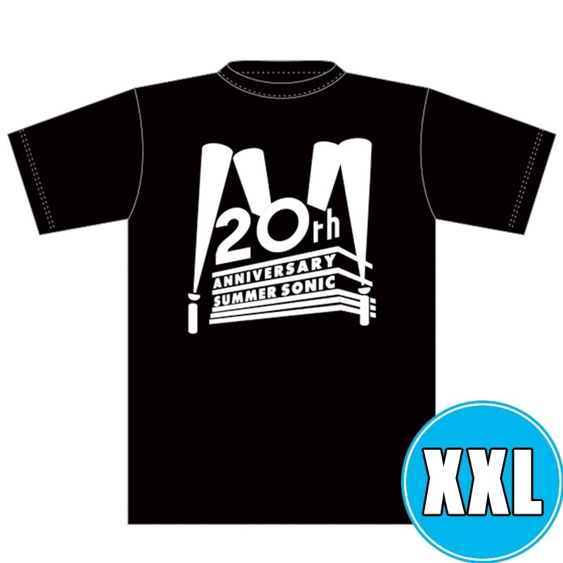 2009リバイバルTシャツ BLACK (XXL)※事後販売分
