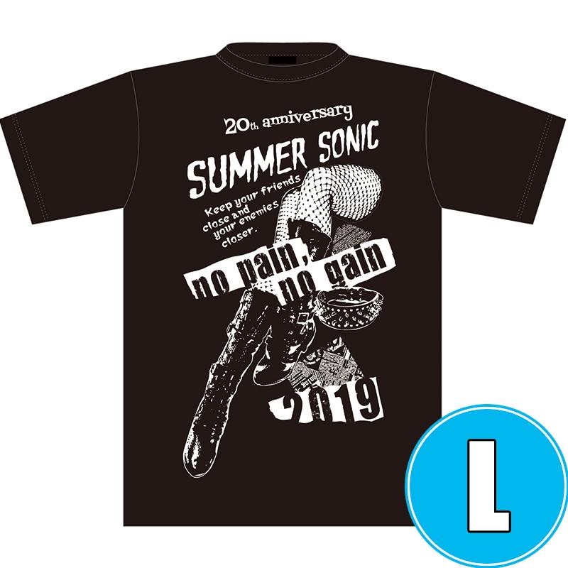 パンク・ロックTシャツ BLACK (L)※事後販売分