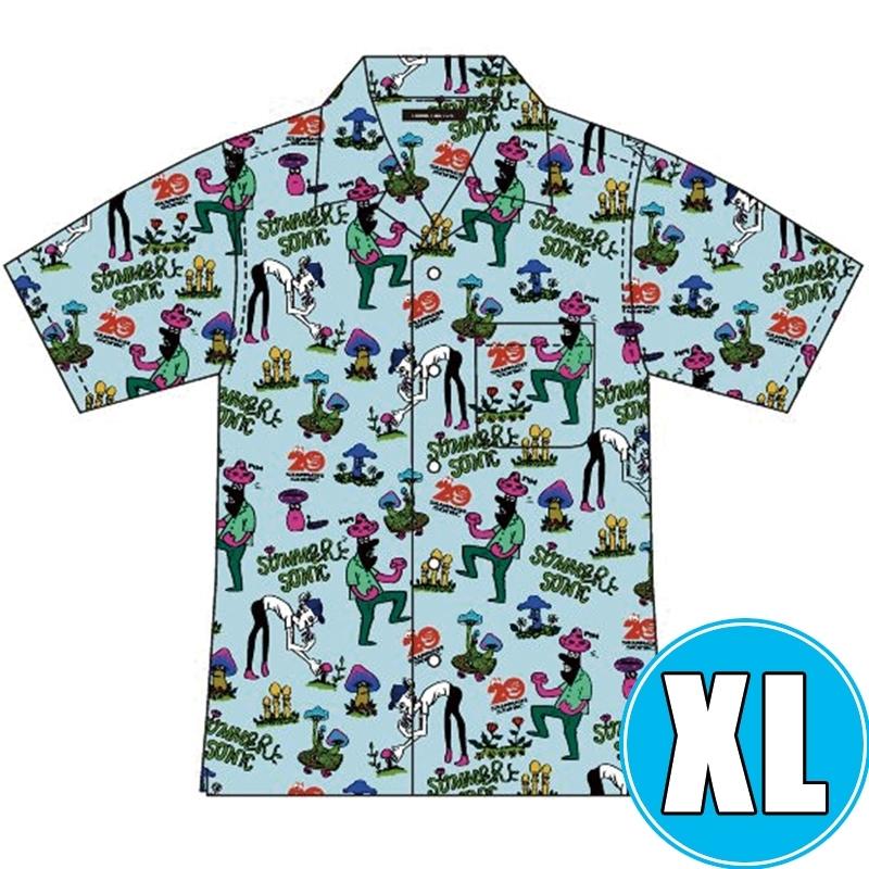 アロハシャツ BULE (XL)※事後販売分