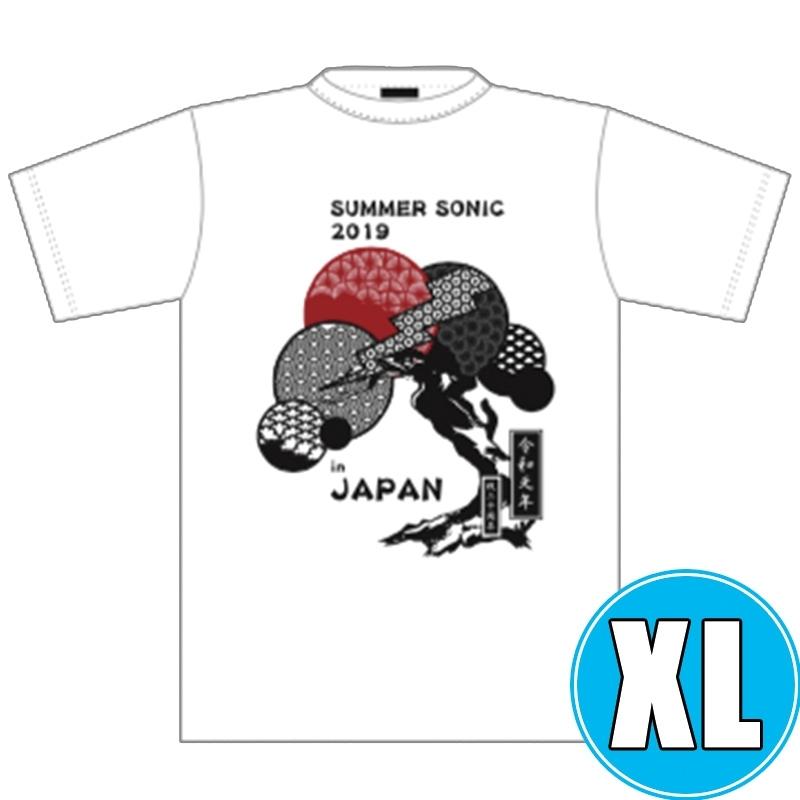 和風Tシャツ WHITE (XL)※事後販売分